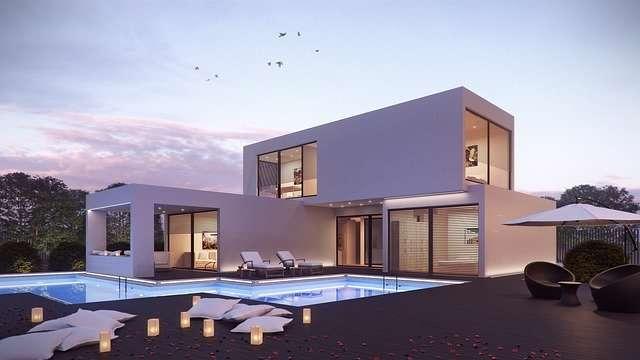 la construction d'une piscine