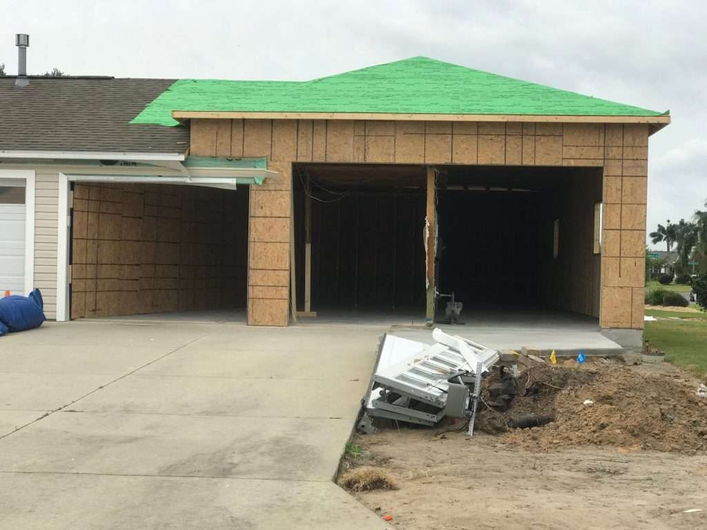garage parpaing ou le bois