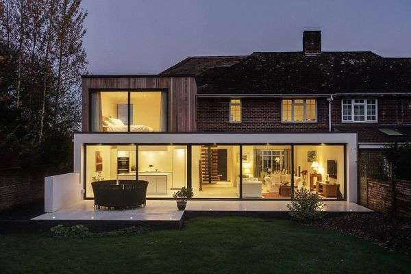 isolation d'extension de maison