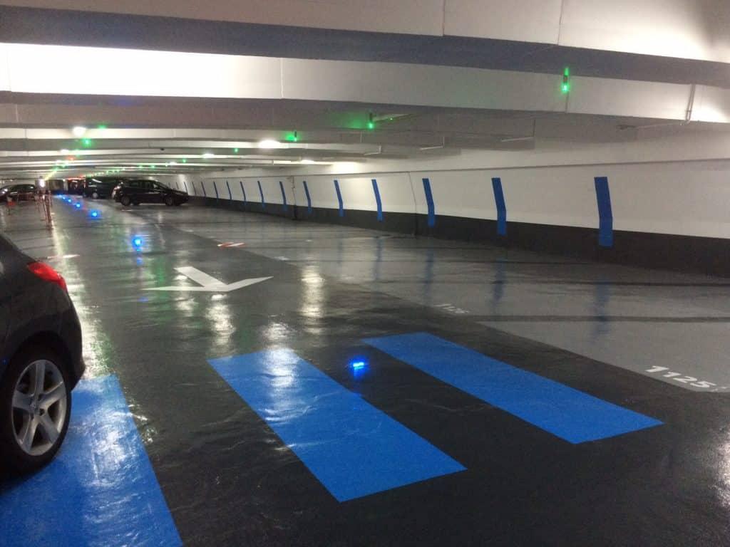 Rénover et repeindre le sol de votre parking