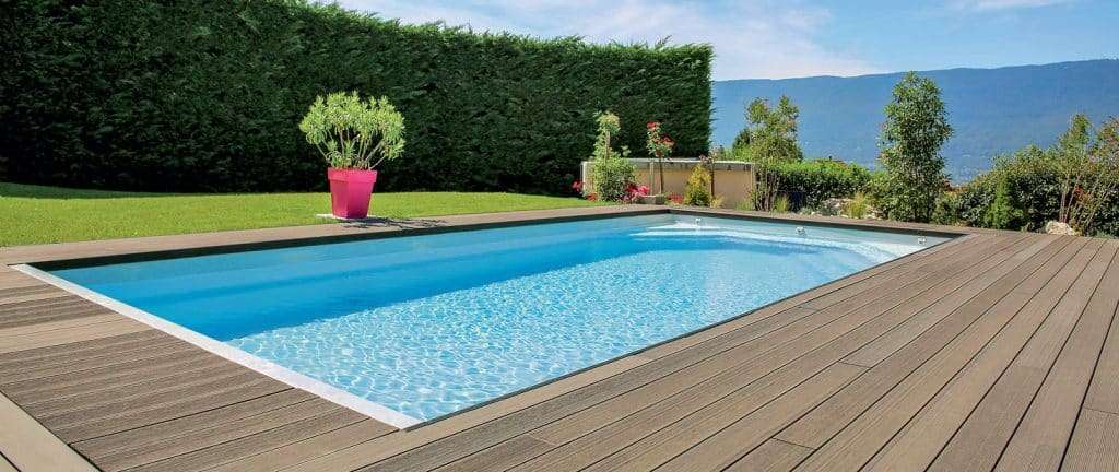 La piscine rectangulaire