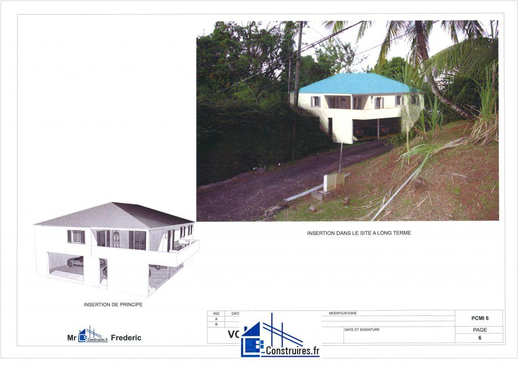 obtention du permis de construire à Saint-Joseph 97212