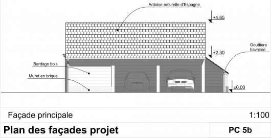 facade garage