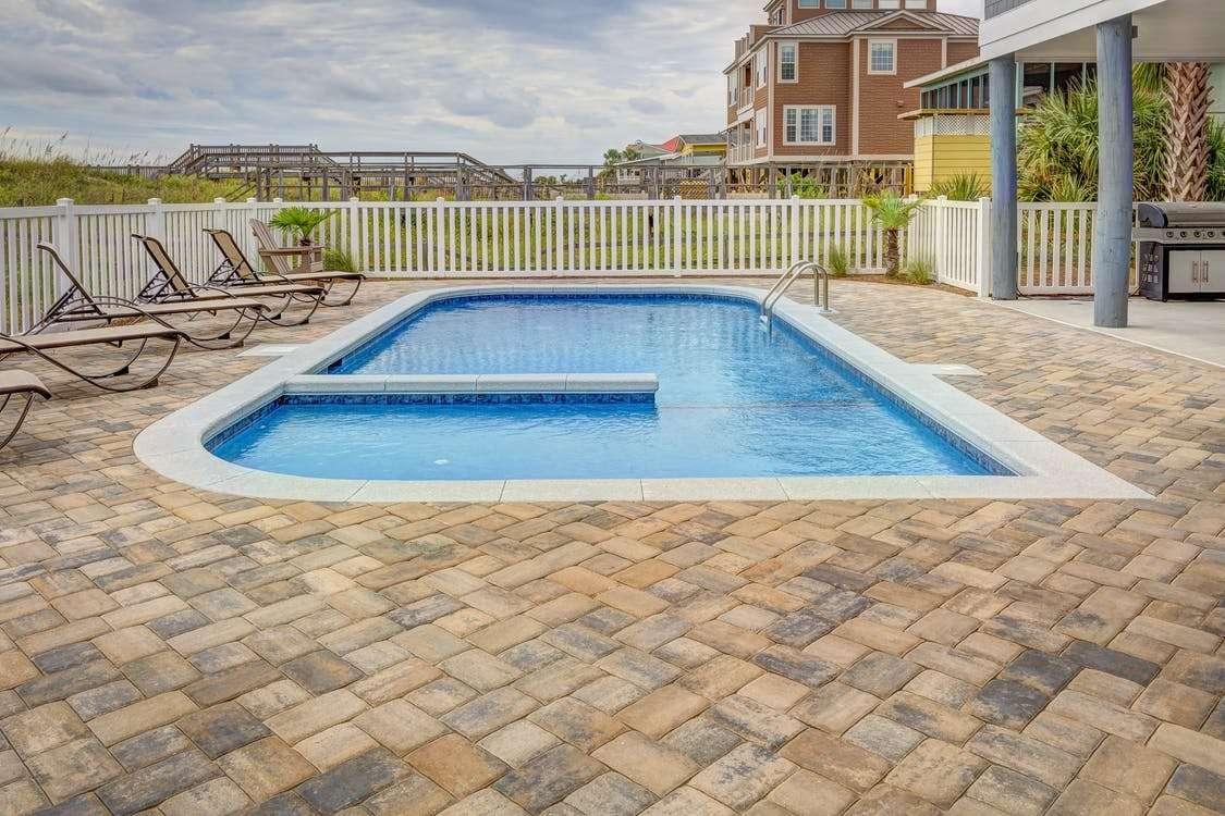 la réalisation d'un projet de construction piscine