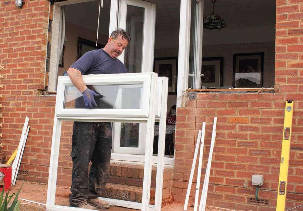 projet de rénovation des fenêtres