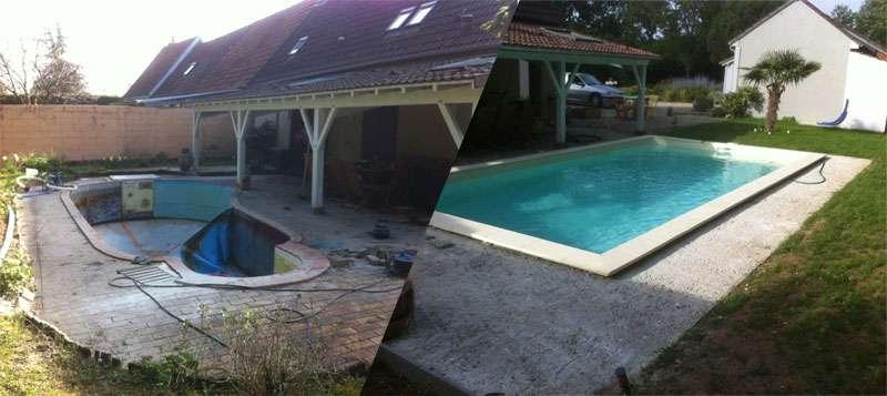 projet de construction pour piscine