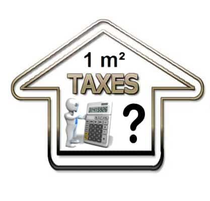Exemple de calcul Surface Taxable