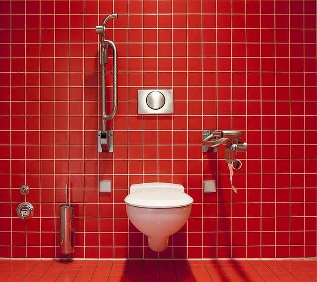 WC haut de gamme pour une salle de bains ultramoderne