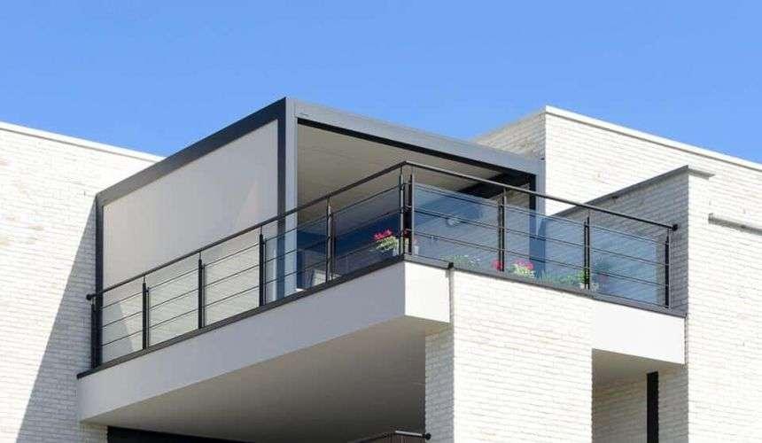 un projet d'agrandissement de balcon