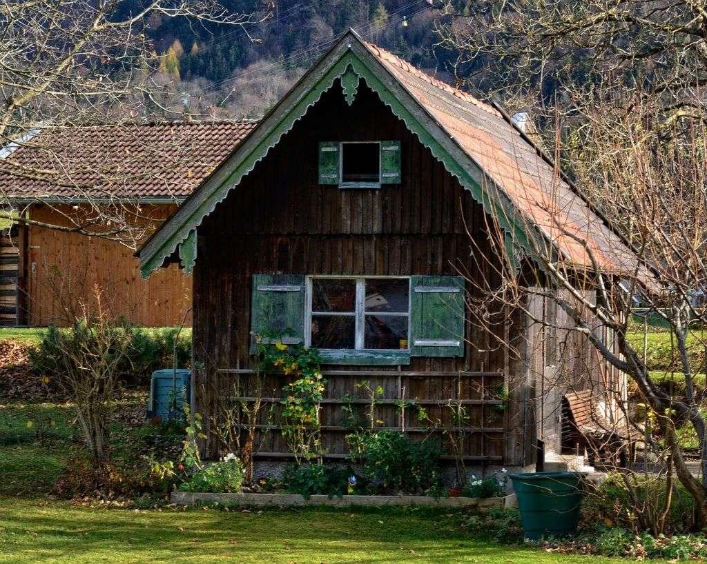 construire une cabane dans le jardin