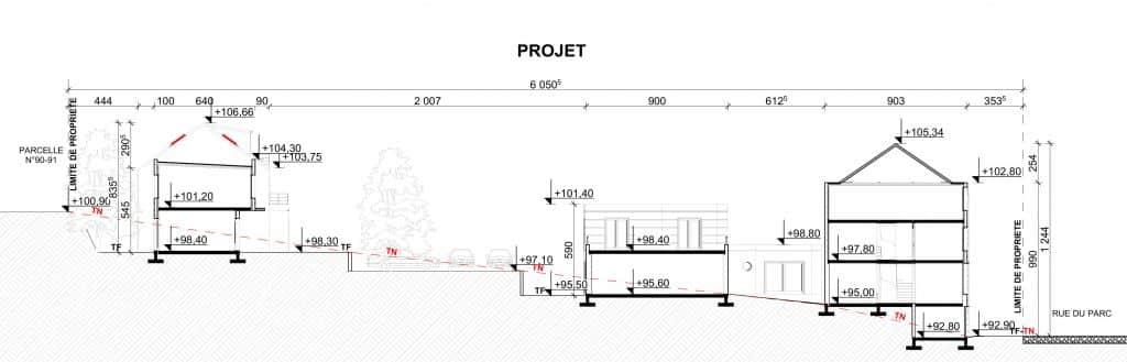 Gros Plan Sur La Realisation De Plan De Construction D Une Maison