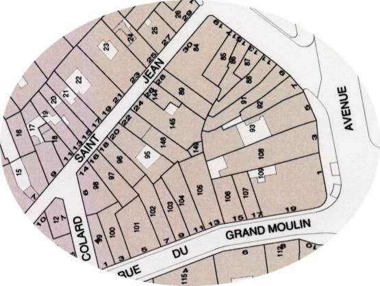 Comment évaluer la surface cadastrale d'une parcelle de terrain ?