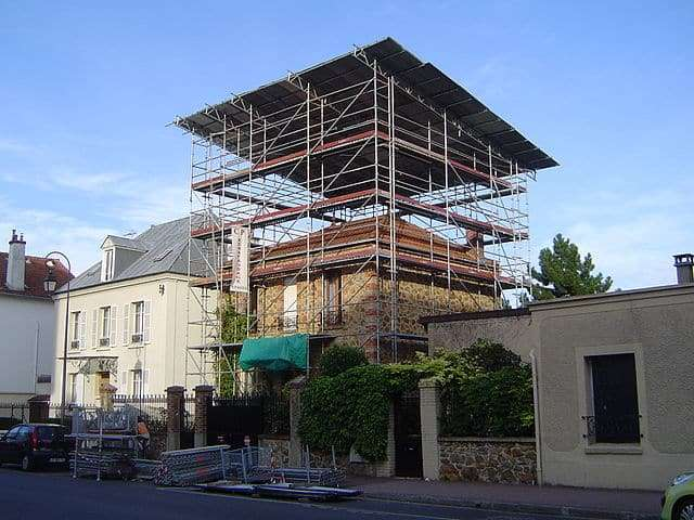 surélévation de maison