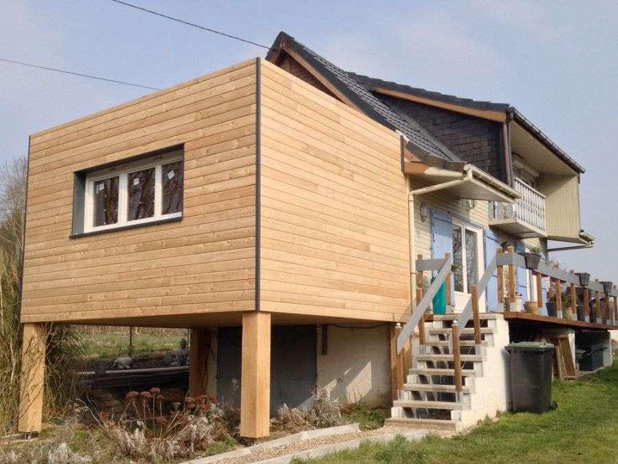 faire une surélévation de maison en bois
