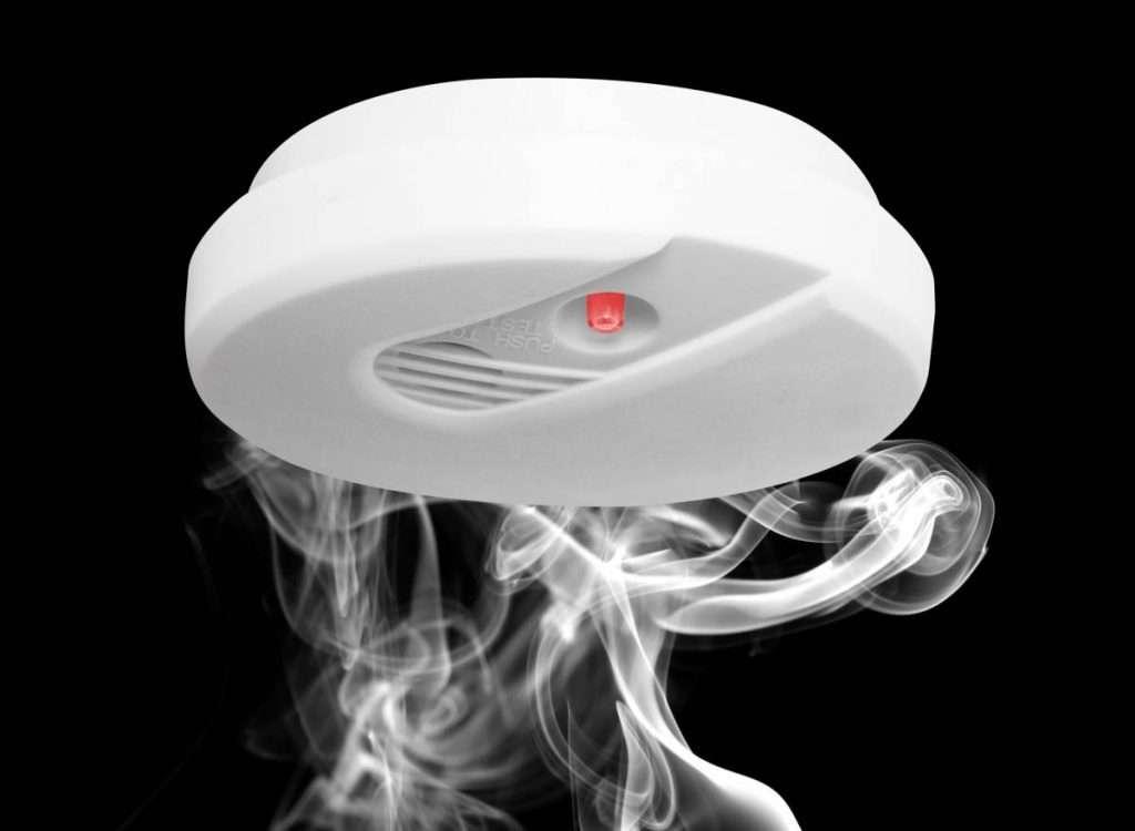Le détecteur de fumée