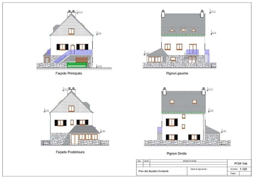 Permis de construire pour une extension à Moëlan-sur-Mer