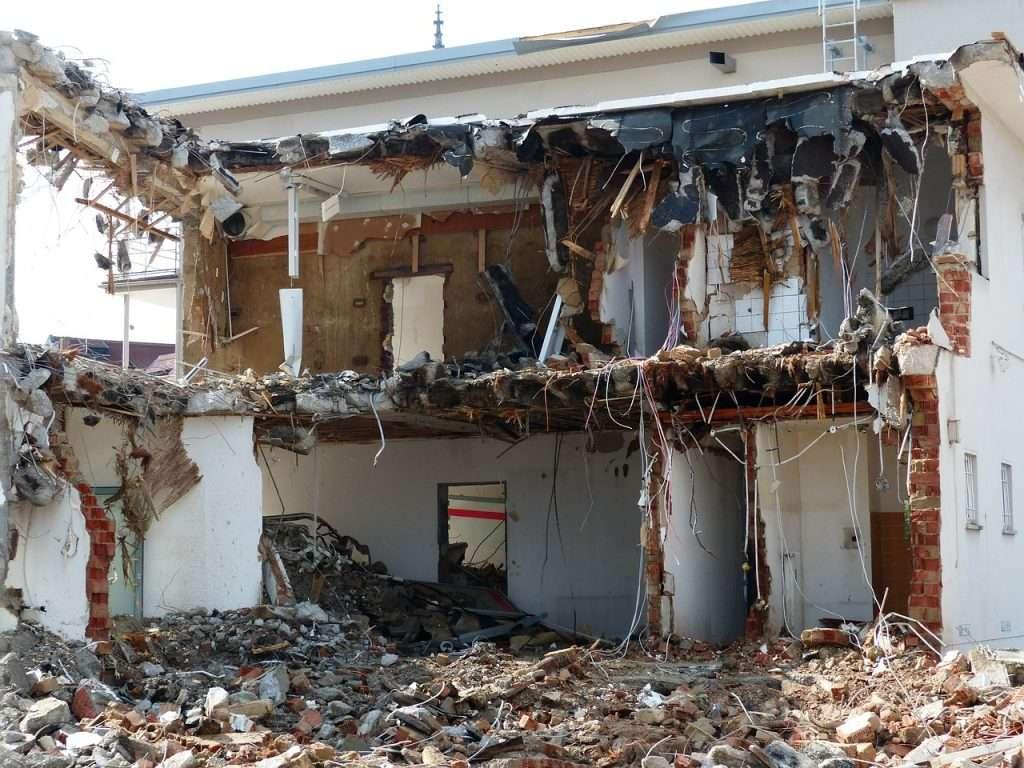 Autorisation de travaux pour démolir