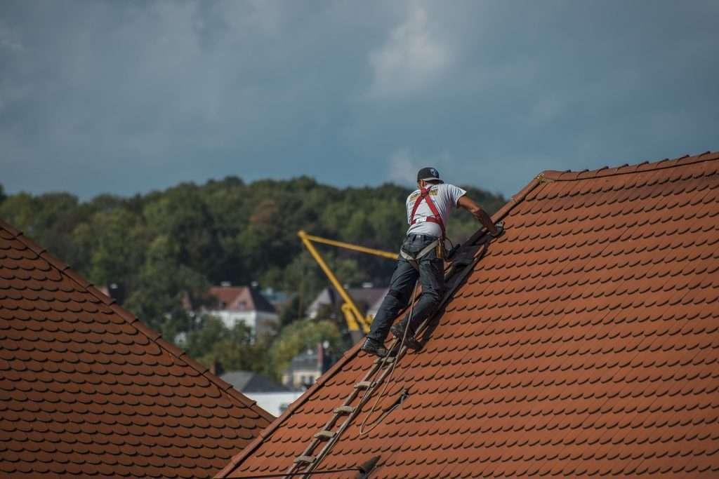 Travaux de rehaussement toiture