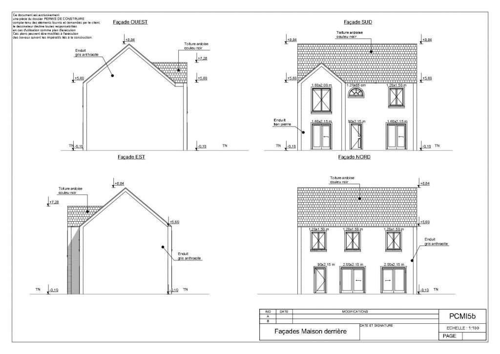 Permis de construire pour créer deux belles maisons individuelles