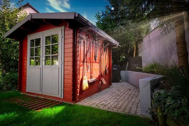 Construisez votre bureau de jardin dans le bon ordre